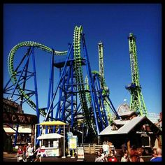 Six Flags New England-this looks like déjà vu-my favorite ride of all time