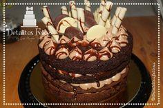 Torta de chocolate con crema de queso crema y Nutella. Cali-Colombia Cali Colombia, Nutella, Cake, Desserts, Food, Chocolate Torte, Cream Cheeses, Tailgate Desserts, Deserts