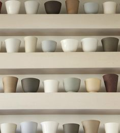bowls by potter julian stair / via pachadesign
