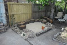 Kids Sandpit in Geelong West - a multi sensory and textural experience for play - by the Garden Consultants