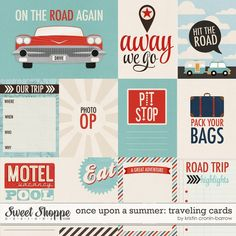 Traveling Journal Cards