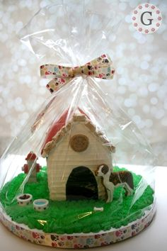 St. Bernard Gingerbread Dog House » Gingerbread House Lane