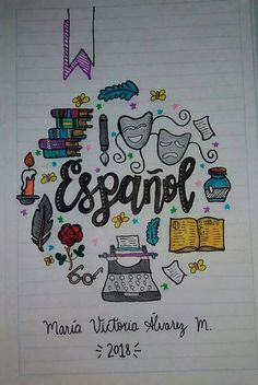 67 Cover for School Notebooks (for young people) Forums Ecuador - 67 Cover for School Notebooks (for young people) Forums Ecuador - Bullet Journal Banner, Bullet Journal School, Bullet Journal Inspo, Notebook Art, Notebook Covers, Diy Tumblr, Diy Crafts To Do, School Notebooks, Lettering Tutorial