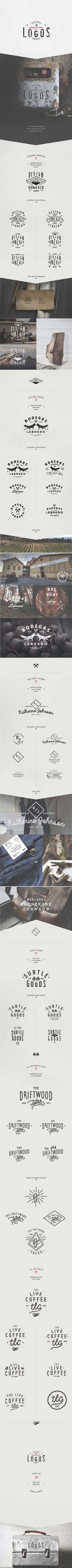 Logos 2013 by Gonzalo Lebrero, via Behance