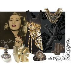 """""""golden"""" by brit123 on Polyvore"""