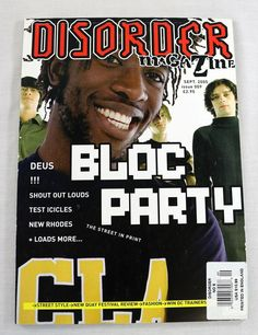 Date:September 45 Records, Music Magazines, Cover Model, Print Magazine, Shout Out, Disorders, September, Party, Movie Posters