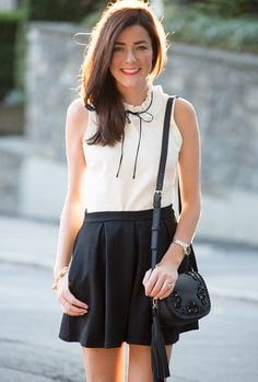 black + white. ruffle-neck top in ponte https://www.jcrew.com/womens_category/shirtsandtops/topsblouses/PRDOVR~F4402/F4402.jsp
