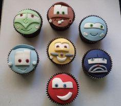 Cupcakes Carros | Elaine Russo - Delizie! Arte com Açúcar | Flickr