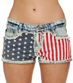fourth of july shorts!