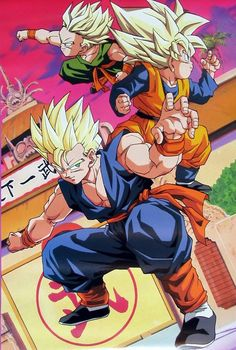 Gohan, Goten, Trunks http://anime.about.com/od/Dragon-Ball-Z-Anime/ - Visit now for 3D Dragon Ball Z shirts now on sale!