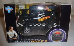 Blue Hat Radio Controlled Micro Racer Black RC New In The Box #bluehat