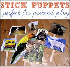 As you know, we like to keep our arts and crafts activities super simple around here. These are the easiest DIY puppets ever and perfect to use with that cardboard puppet theater we made! There's no need to go into elaborate instructions! Kiddo and I both cut out some animals from magazines (you can probably...Keep Reading →