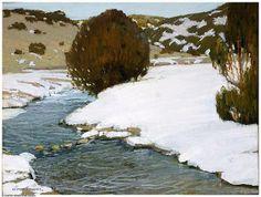 Victor Higgins:  River in Winter