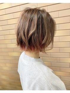 Edgy Short Haircuts, Short Hair Cuts, Short Hair Styles, Hair Inspo, Hair Inspiration, Kpop Hair, Hair Color, Hair Beauty, Hairstyle