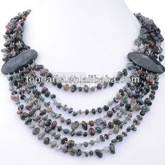 Aliexpress.com : Buy Free shipping! Agate Necklace Chips Stone Necklace 21 inches NJ575383 from Reliable agate necklace suppliers on TOPEARL Wholesale Stainless Steel Jewelry,Pocket Watches $17.39