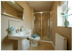 En-suite shower room. #newhomes  #property