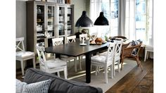 IKEA Ingolf chair, white. $49