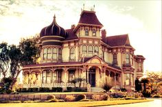 Victorian style of home