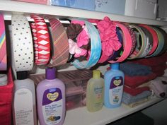 Gallery of headband storage ideas