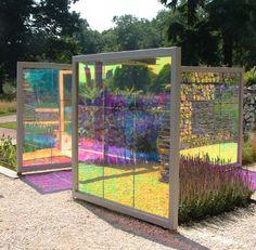 Translucent & reflective panels