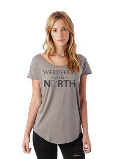 Wardeness of the North // Scoop Tee