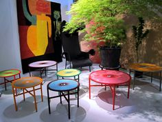 Banjooli Collection Is An Extension On The Colorful Chair Design Announced  In 2013. Designed By