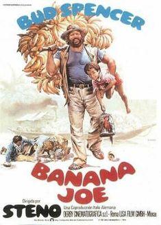 Banana Joe Subtitrat in Romana Cinema Film, Cinema Posters, Bud Light Beer, Terence Hill, Lucky Luke, Western Film, Westerns, Poster Prints, Banana