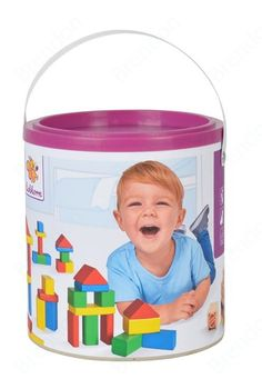 Brendon - Eichhorn építőkocka Building cubes colourful 50pieces