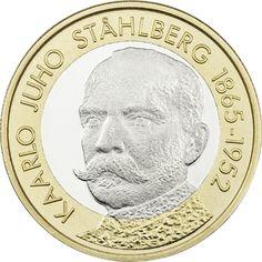 Suomen Presidentit - K.J. Ståhlberg, proof