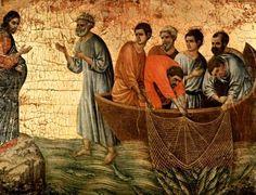 Maesta, altarpiece of Siena cathedral, scene appearance. Altar, Art Des Gens, Duccio Di Buoninsegna, Siena Cathedral, Life Of Christ, Jesus Christ, People Art, Wise People, Italian Artist
