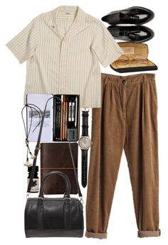 """""""Untitled #8902"""" by nikka-phillips ❤ liked on Polyvore featuring Burberry, MTWTFSS Weekday, Forever 21, Shinola and Lanvin"""