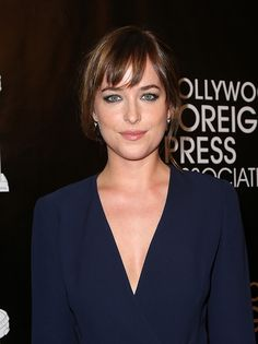 Dakota Johnson's Hairstylist Shares His Trick for Perfect Bangs   Daily Makeover