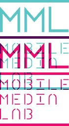 MML (Mobile Media Lab, Montreal) identity and website by FEED and Pixel Circus.