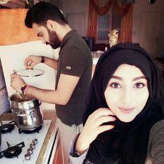 😁😁😁esa kb hoga cant wait for that day😁😁. Cute Muslim Couples, Muslim Girls, Cute Couples Goals, Couples In Love, Romantic Couples, Muslim Women, Wedding Couples, Couple Goals, Couple Dps