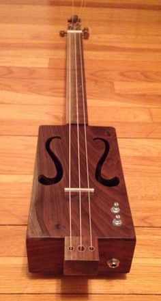 Cigar Box Guitar by DevineEnergy on Etsy