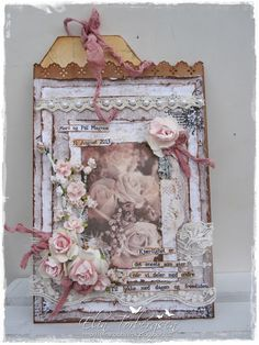 Live & Love Crafts' Inspiration and Challenge Blog: Wild Roses Wedding