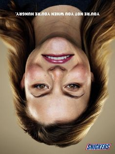 Snickers Hungry Faces Campaign | http://www.gutewerbung.net/snickers-hungry-faces-campaign/ #Advertising