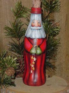 Santa Bottle  http://tudojuntoemisturadopaty.blogspot.com/2011/11/jingle-bells-papai-noel.html#