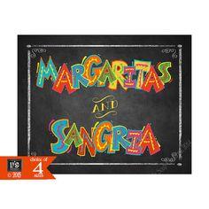 Printable Margaritas and Sangria Fiesta Party by PSPrintables