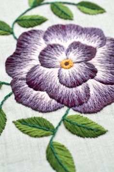 Learn a new skill and create something beautiful to use as a decoration or give to a loved one as a gift. The pdf guide will be downloadable instantly so you can start stitching whenever you wish. The hoop has a beautiful floral design and it's great for beginners. #embroidery #pattern #embroideryhoop #floral #walldecor #DIY