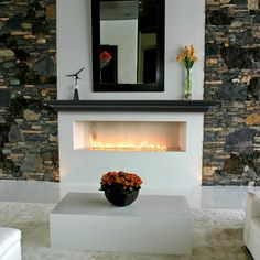 Pearl Mantels Crestwood Transitional Fireplace Mantel Shelf - Fireplace Mantels at Hayneedle See how this one goes around the sides. Transitional Fireplace Mantels, Black Fireplace Mantels, Fireplace Shelves, Mantel Shelf, Open Fireplace, Fireplace Inserts, Fireplace Design, Fireplace Ideas, Fireplace Remodel