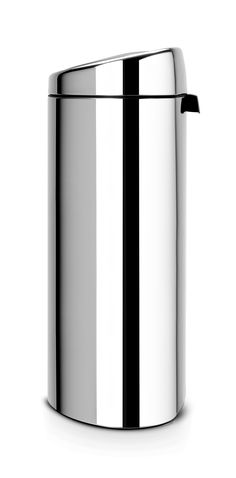 The Brabantia Touch Twin Bin is ideally suited for any home. For additional information http://wybone.co.uk/product/brabantia-recycle-touch-twin-bin-brilliant-steel/ 48 hour delivery for those who order off the website