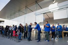 iPhone day, that time of the year when Apple fans must wait in line to get their hands on the newest product, is turning into iPhone season.