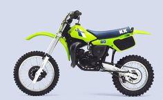 1984 Kawasaki KX80