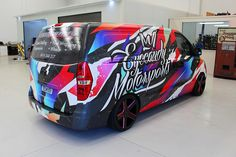 Hyundai IIload commercial graphics for Eye Candy Motorsports
