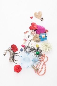 love this pile of awesome things! ban.do sequin hearts
