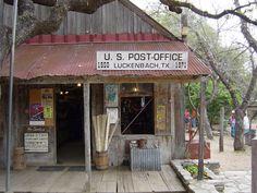 Luckenbach, Texas!