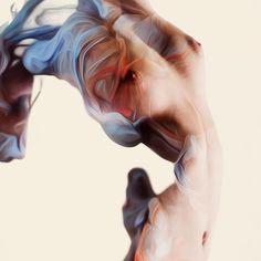 Painterly Nudes by Alberto Sevesos