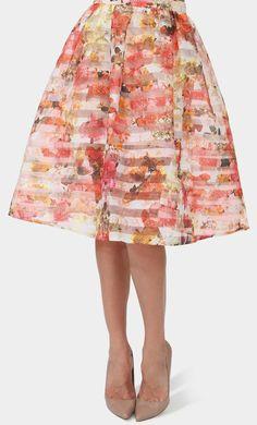 Kyoto Floral Skirt