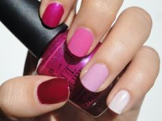 Ombre manicures? Only in the wedding colors. Maybe with French tips?